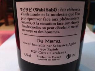 Merci a Lolo et Eugènie pour les étiquettes Wabi Sabi